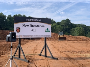 Forsyth Fire Station 11 Sign | Cooper & Company