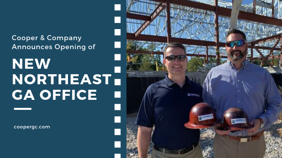 Northeast GA Office Announcement | Cooper & Company