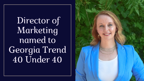 Director of Marketing Named 40 Under 40 By Georgia Trend