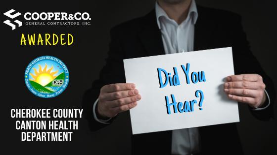 Cooper & Company | Cherokee County Canton Health Department