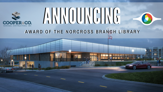 Cooper & Company Awarded Construction of New Norcross Library