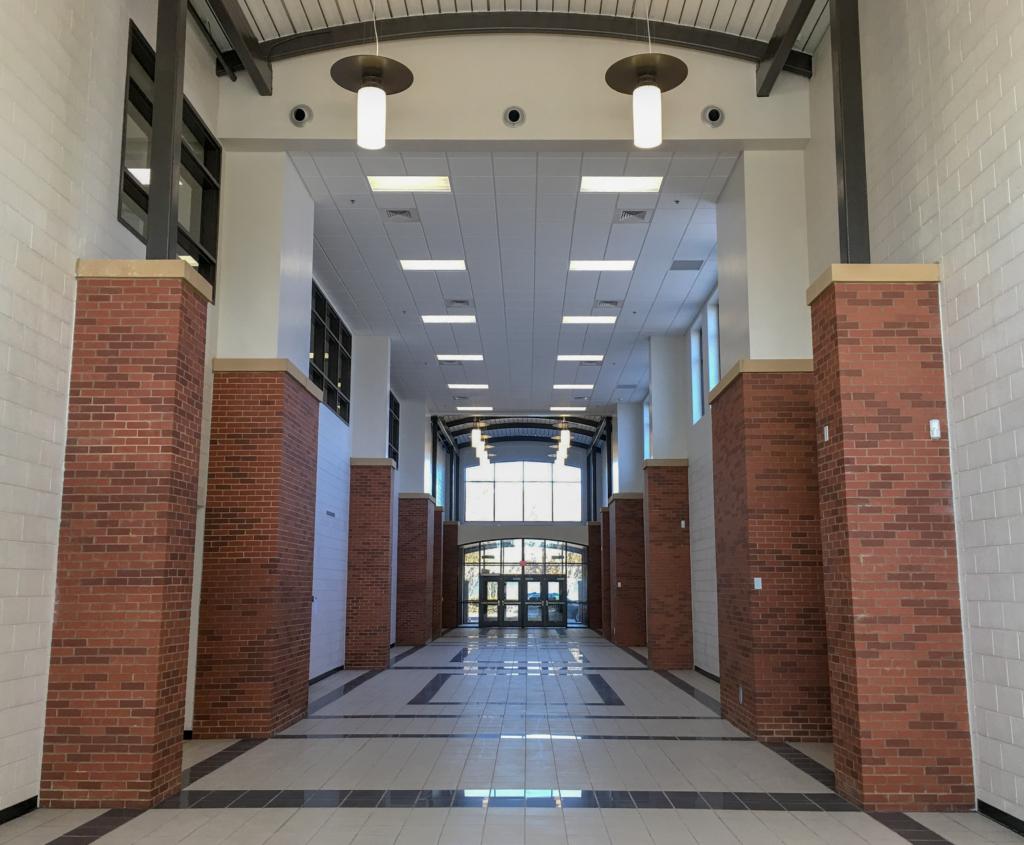 Cooper & Company | Lilburn Middle School Lobby