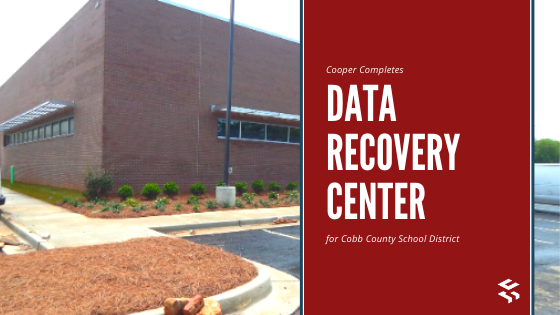 Cooper Completes Data Recovery Center for Cobb County School District