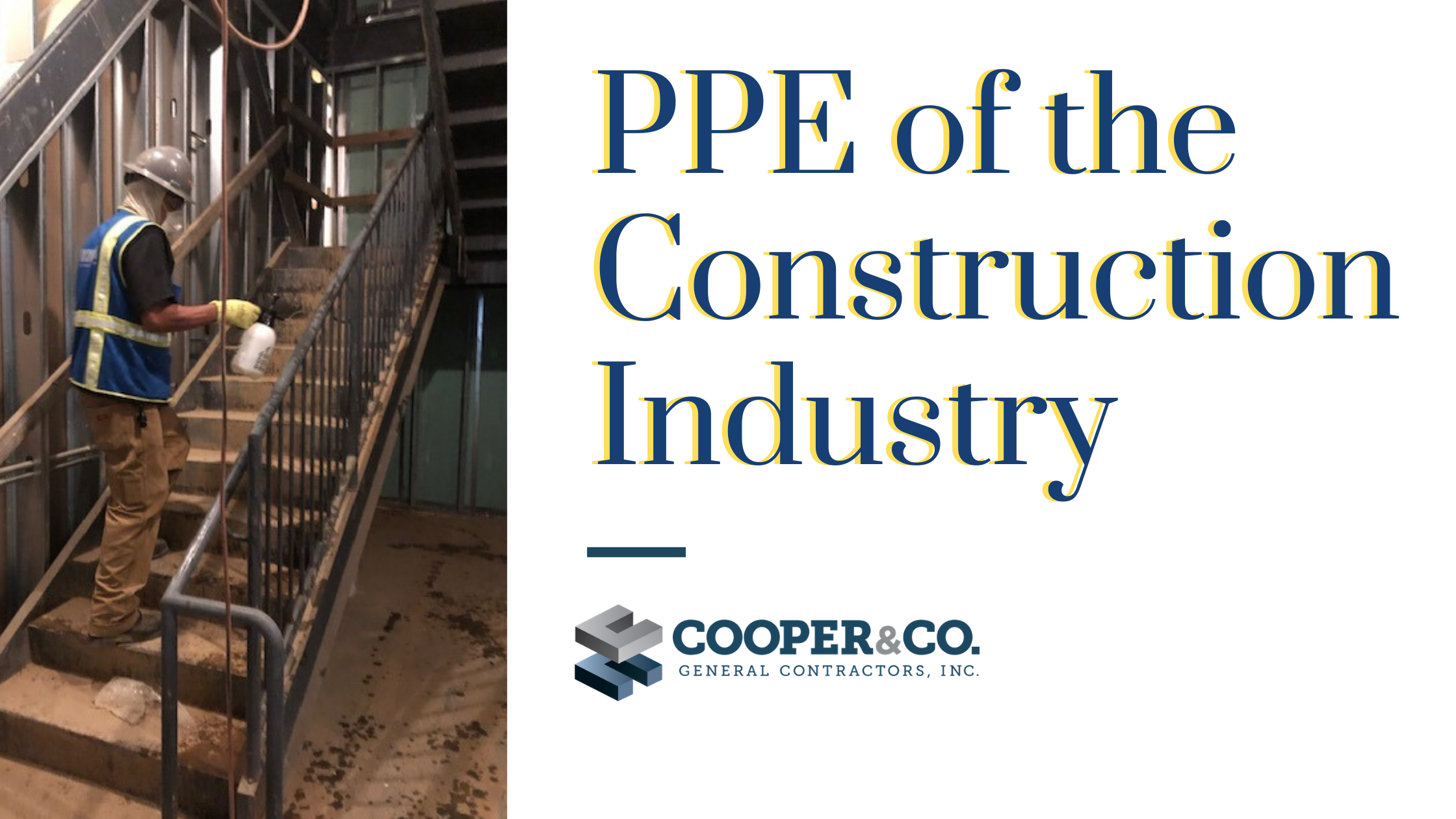 Cooper & Company   PPE of the Construction World