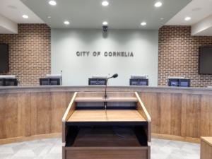 r & Company | Cornelia City Hall