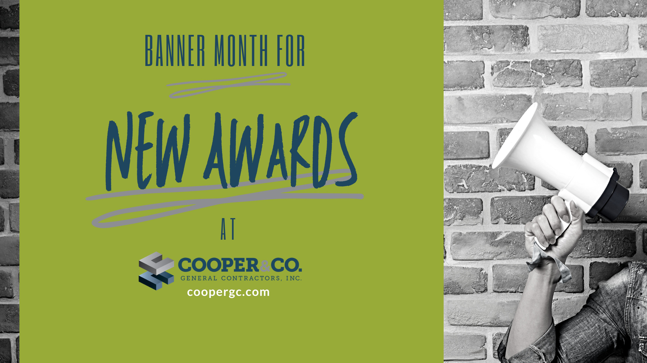 Banner Month for New Awards | Cooper & Company General Contractors