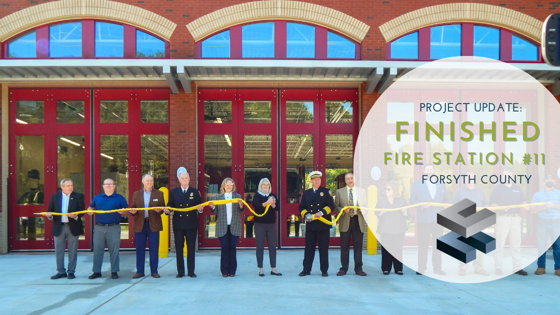 Project Update:  Finished Fire Station #11 Ready for West Forsyth County