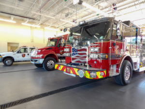 Forsyth Fire Station 11 | Cooper & Company General Contractors | Fire Bays