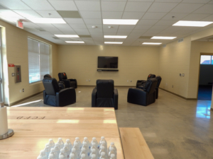 Forsyth Fire Station 11 | Cooper & Company General Contractors | Common Area