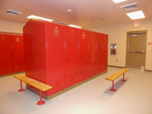 Forsyth Fire Station 11 | Cooper & Company General Contractors | Locker Facility
