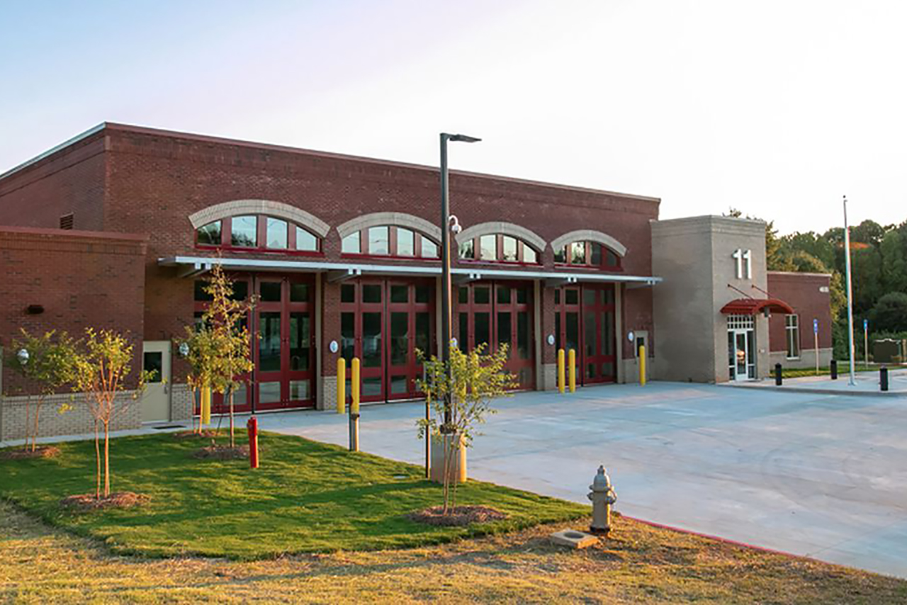 Forsyth Fire Station 11 | Cooper & Company General Contractors | Public Safety