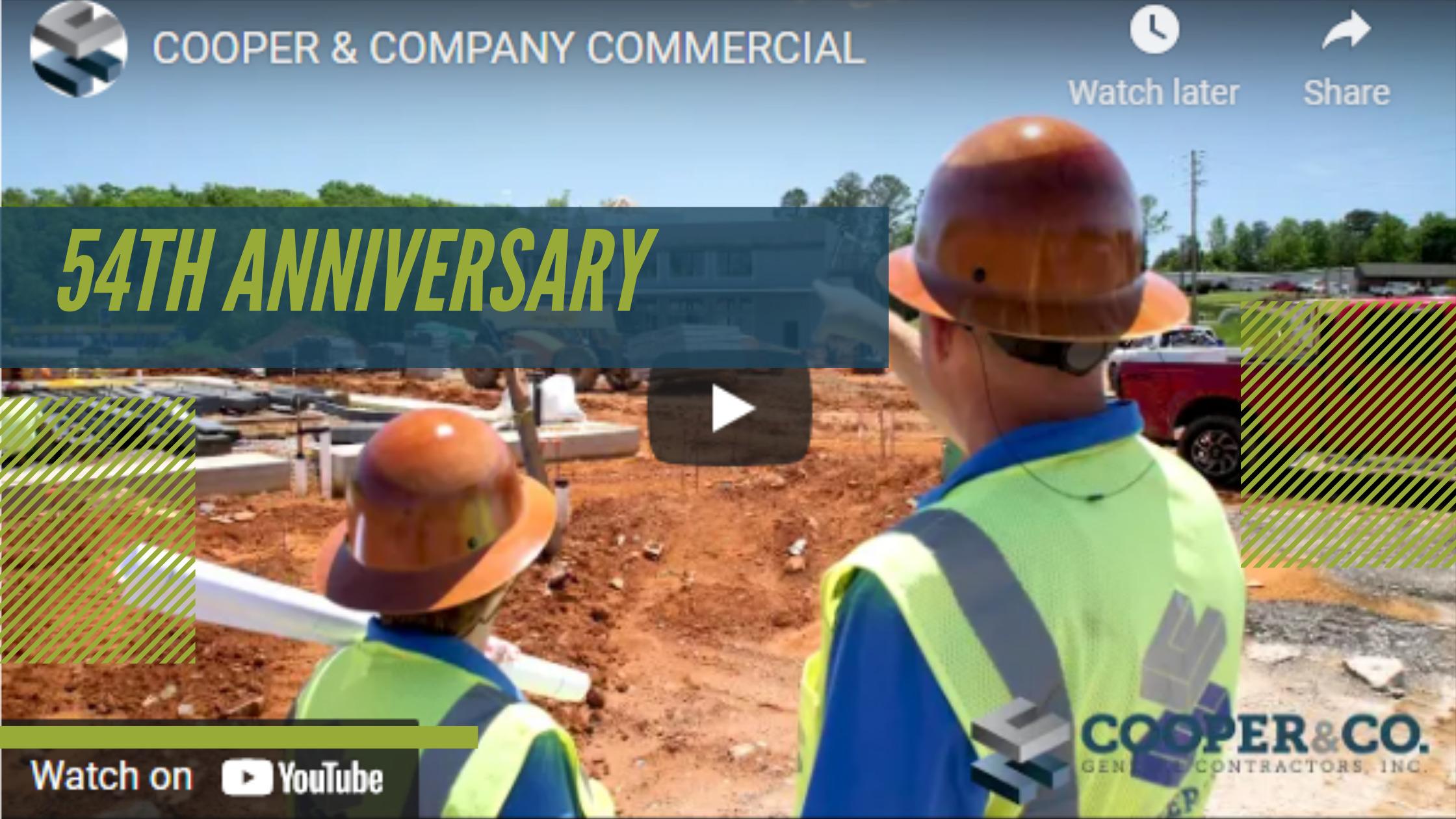 Cooper and Company celebrates 54th Anniversary