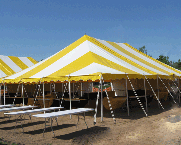 rope and pole tent