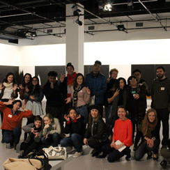 CK Warhol Dia Art attendee group