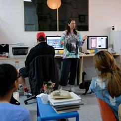 Sam Moyer studio visit