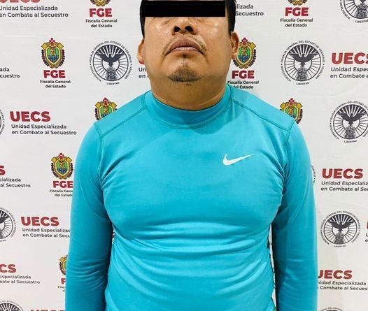 Captura la UECS a presunto secuestrador de comerciante del municipio de Pajapan