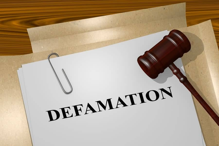 Defamation Personal Injury Lawyer