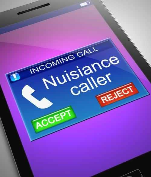 Nuisance Caller lawyer