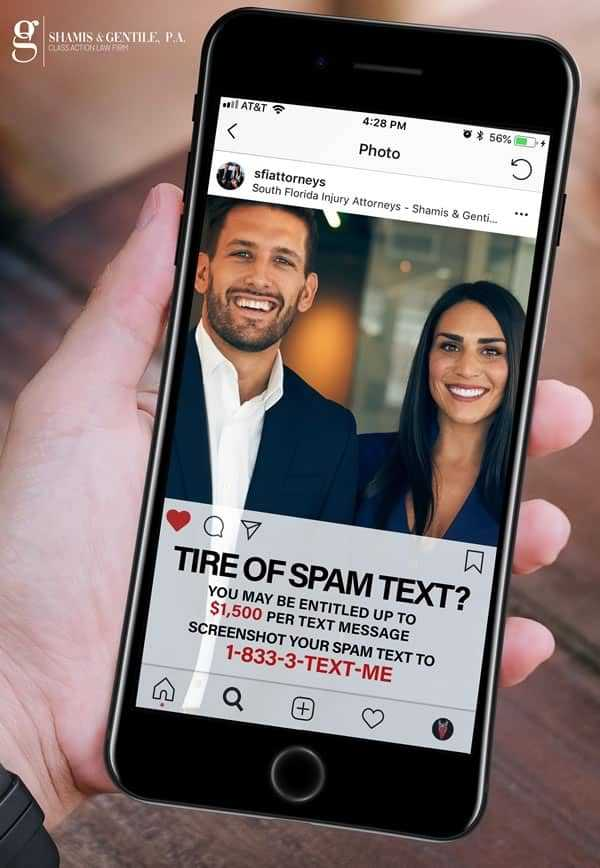 spam text lawyers