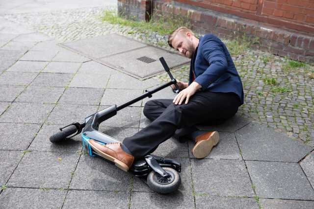 Who is liable in an electric scooter accident lawsuit?