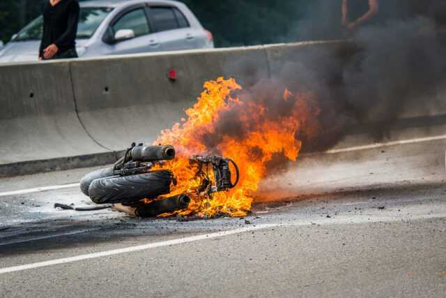How does your insurance company evaluate your totaled motorcycle for a total loss claim?