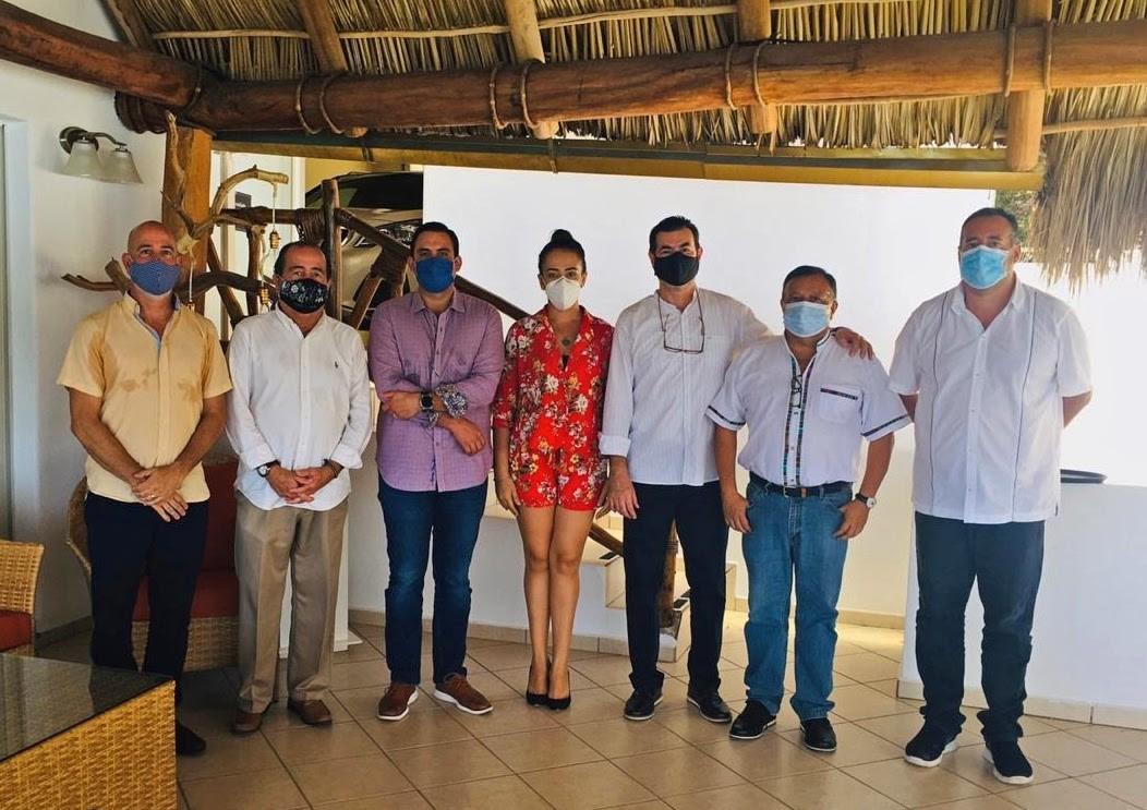 Se reunieron representantes de las Asociaciones de Hoteles y Moteles y OVC's de Bahía de Banderas-Riviera Nayarit, Compostela, Tepic y San Blas.