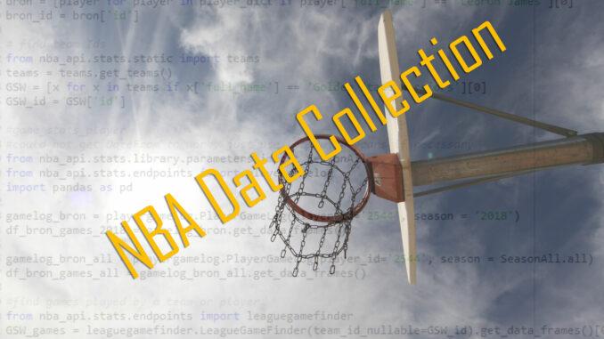 Nba data collection
