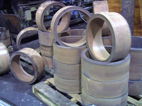 Some of our aerospace forgings