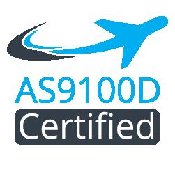 AS9100D certified