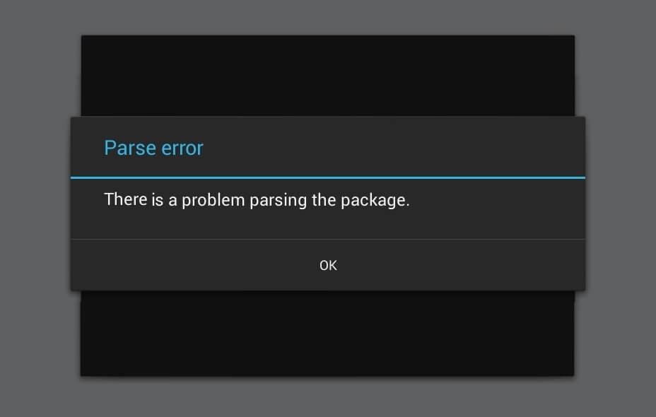 lucky patcher problem parsing package error