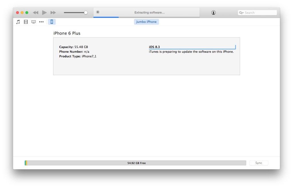 itunes is downloading software update error