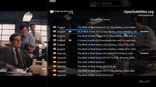 add kodi subtitles