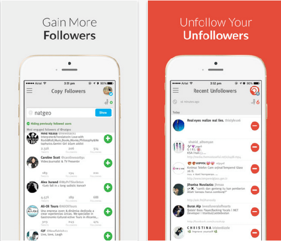 crowdfire unfollow all instagram