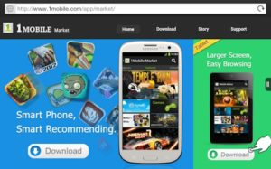 download 1mobile market for android and iOS