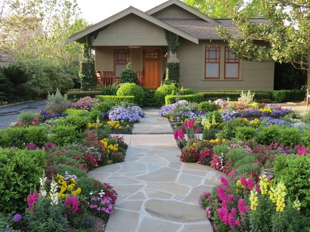 House and xeri-garden