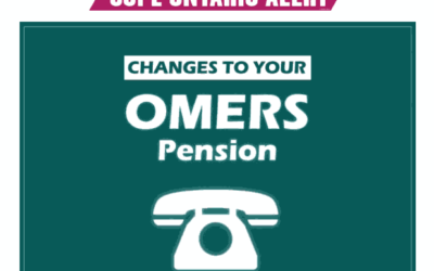 CUPE Ontario Alert