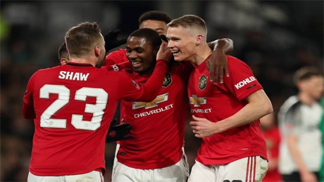 Video Odion Ighalo goals vs Derby County 2020 FA Cup for Man United
