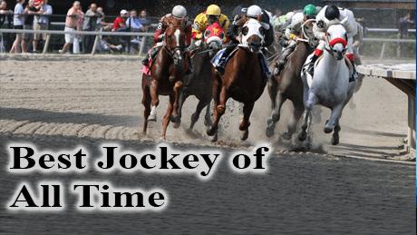 Jockeys in horse racing