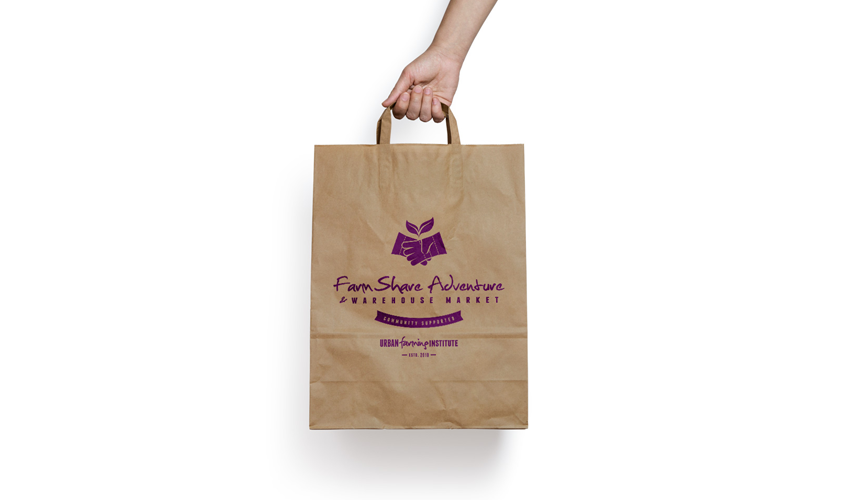 Urban Farming Institute FarmShare Adventure CSA Bag
