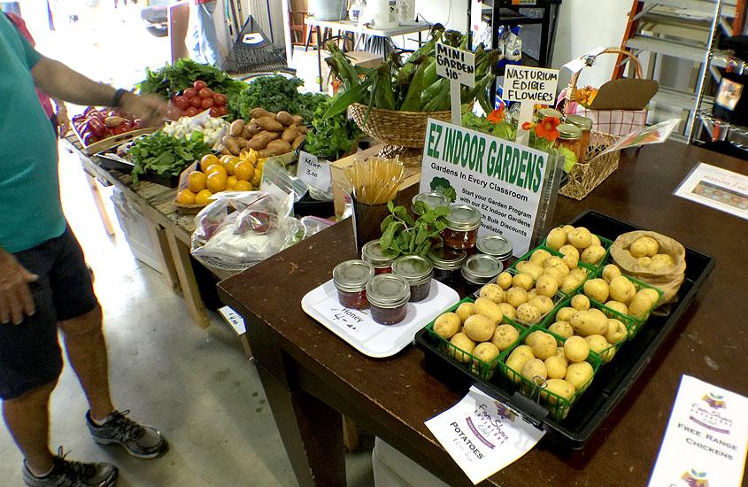 Warehouse Market at the Urban Farming Institute