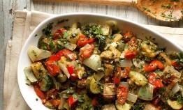 Ratatouille Recipe by the Urban Farming Institute Farm-to-Table Chef Demo