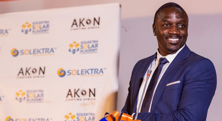 Akon Lighting Africa