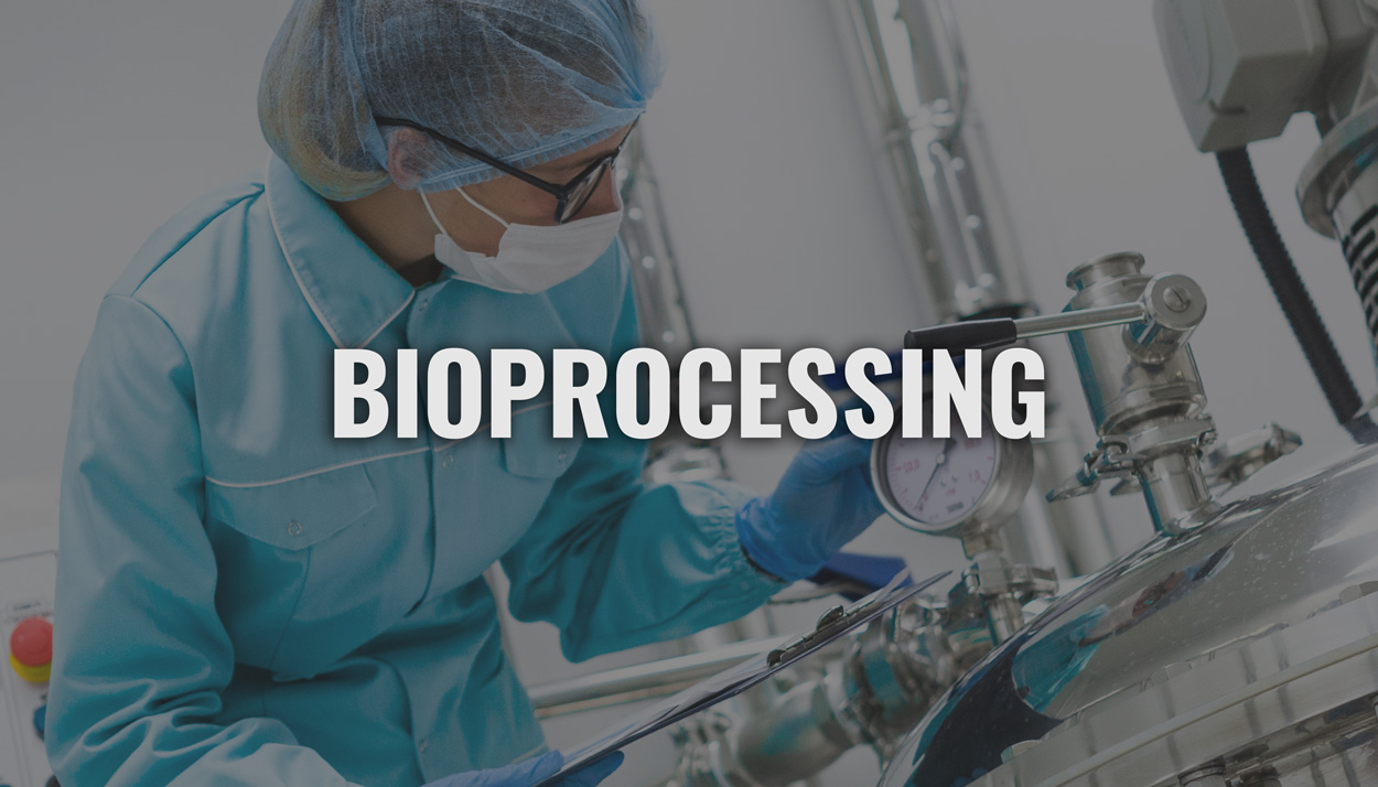 Bioprocessing button