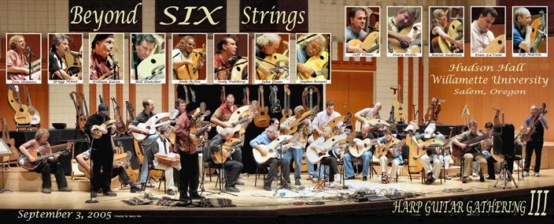 Beyong Six Strings concert for the International Harp Guitar Festival