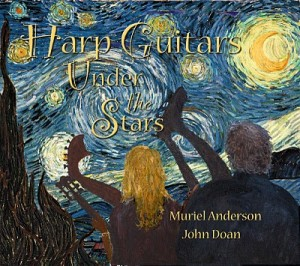 Harp Guitars Under the Stairs with John Doan and Murial Anderson