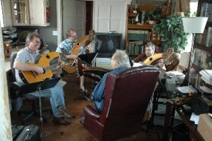 john doan harp guitar retreat class session