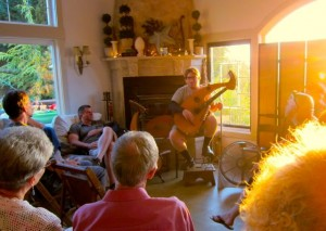 15. John Doan Harp Guitar Retreat Nick concert