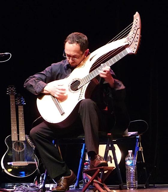 14.Philippe Fouquet Harp Guitar
