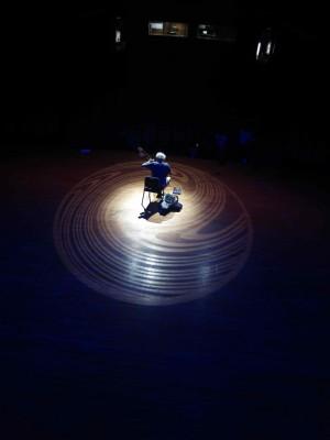 19. Xian Concert John Doan swirl lights