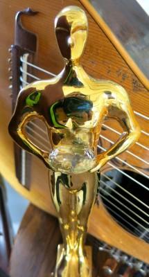 John Doan Brand Laueate Award Harp Guitar